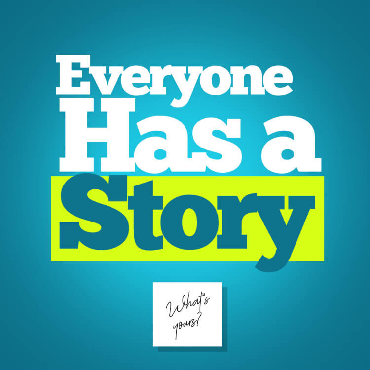 Everyone Has a Story Podcast Logo