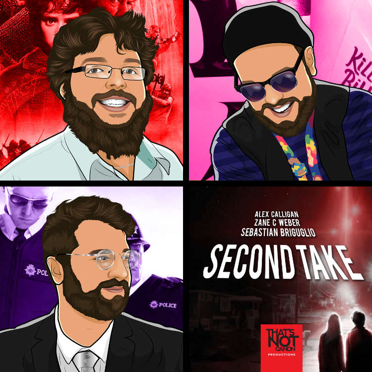 Second Take Podcast Logo