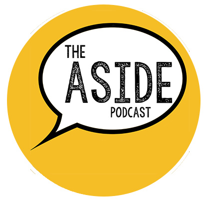 The Aside Podcast Podcast Logo