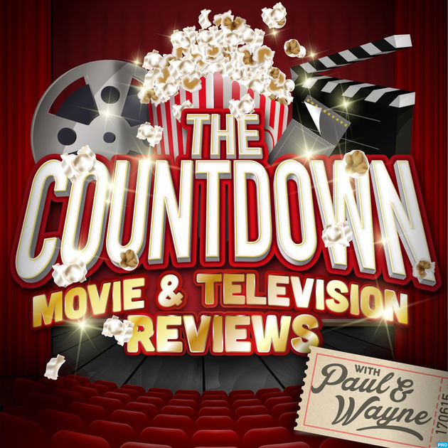 The Countdown Movie and Television Reviews Podcast Logo