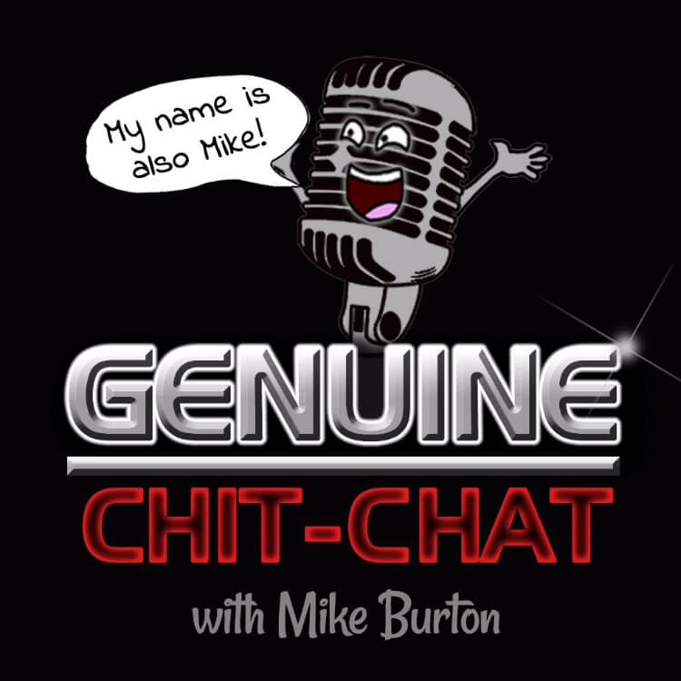 Genuine Chit Chat Podcast Logo