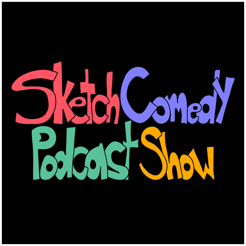 Sketch Comedy Podcast Show Logo